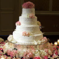 The Wedding Cake Table Decorations To Elevate Your Wedding Cake3
